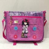 Sacchetto di banco operato della ragazza, sacchetto di spalla, sacchetto di Messager