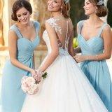 Закрученная сердечником резьба полиэфира для платьев партии девушок