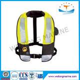 Da veste marinha do trabalho da segurança do revestimento de vida da espuma do SOLAS colete salva-vidas inflável para o adulto/miúdo
