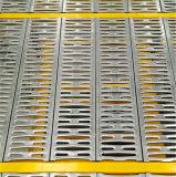 Q235 de acero perforado Plataforma Suelo