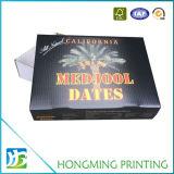 Großhandels-Soem-faltbare Pappfrucht-verpackenkasten