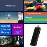 Soporte Win10 del palillo de la PC y androide 4.4 para el hogar y el anuncio publicitario