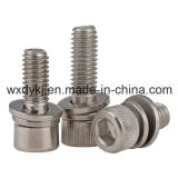 Hexagon-Kontaktbuchse-Kopfschraube und flache Unterlegscheibe-Montage-Fabrik von China JIS B 1176