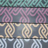 Cuir 2017 estampé synthétique de vente chaud à la mode pour décoratif (W122)