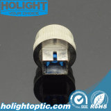 0 ~ 30dB Sc fibra óptica mecánica atenuador ajustable