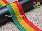 De zwarte en Groene Valse Nylon Singelband van Kleuren voor de Toebehoren van het Kledingstuk