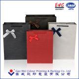 Sac de papier réutilisé Écho-Amical de couleur de promotion de cadeau fait sur commande d'impression avec le meilleur prix