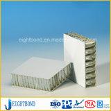 Panneau en aluminium de nid d'abeilles de façade noire pour des matériaux de construction