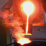 fonderia di alluminio industriale del metallo di fusione del forno di fusione 100kw