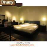 熱い販売の寝室の家具の木のプラットフォームベッド