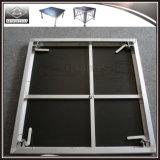 Etapa portable de la mini etapa de interior para crear una canalización vertical