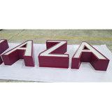 Cartas de canal de acrílico fabricadas al aire libre de interior del acero inoxidable LED