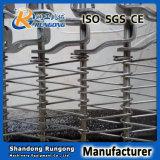 Banda transportadora flexible de Rod del fabricante, correa espiral del congelador