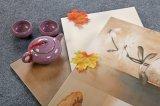 세라믹 목욕탕과 부엌 꽃 디자인 벽 도와