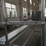 Q345/Q235 U-Tipo impalcatura di HDG Ringlock per costruzione