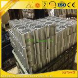 Disipador de calor de aluminio industrial sacado anodizado de la protuberancia