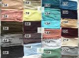 Heißer des Verkaufs-2017 Schal Form-der Dame-Long Classic Polyester Plain
