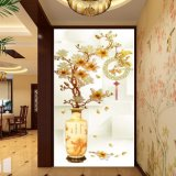 Сработанность приносит картину маслом богатства напечатанную цифров китайскую для украшения вестибюля