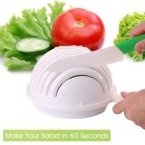 Сделайте салат в шаре резца салата 60 секунд сделанном в Китае