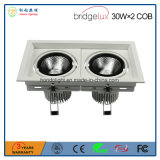 Bridgelux 옥수수 속 30W는 승인된 Ce&RoHS를 가진 맨 위 LED 석쇠 램프를 골라낸다