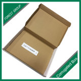 Rectángulo acanalado de envío en línea del cartón del papel de la cartulina