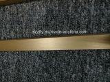 Profilé d'extrusion en aluminium anodisé brossé 6063 pour meubles / salle de cuisine / douche