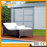 Напольный ротанг балкона крыши мебели бассеина сада/Daybed Sunbed кровати Wicker салона стула палубы лежа