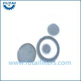 Bloco dos media de filtro do metal para Filber sintético