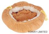 Esteiras do animal de estimação da qualidade que reunem as bases elásticas do círculo do animal de estimação da corda do algodão