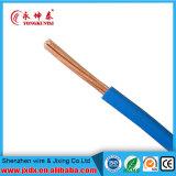 Chambre isolée par PVC à un noyau câblant le prix de câble du fil électrique 2.5mm