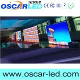 Visualizzazione di LED di fusione sotto pressione 500*500mm dell'interno del Governo di P3.91 P4.81