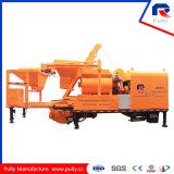 Pompa d'ammucchiamento concreta del miscelatore di Diesel&Electric di fabbricazione della puleggia da vendere in L'India (JBC40-L)