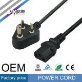 Cable de la corriente ALTERNA del enchufe alambre de cobre SA de Sipu para el ordenador