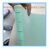 15mm зеленый прорезать и отверстие 80kg пробивая сердечник пены PVC
