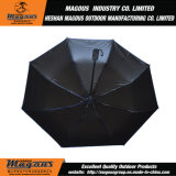 Auto Semi-Fibra de vidro 3folding que anuncia o guarda-chuva