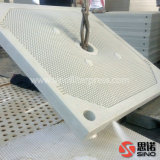 Prensa de filtro automática de membrana del tratamiento del lodo para la separación de sólido-líquido de desecación del lodo