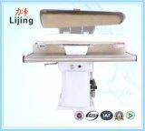 Equipo de lavandería vapor de calentamiento Prensa hierro para fábrica de ropa con el sistema ISO 9001