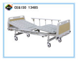 (A-71) Cama de hospital manual Double-Function movible con la pista de la base del ABS