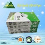 Papier-copie A4 bon marché de bonne qualité de pâte de bois de 100%