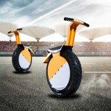 Um motor poderoso do Unicycle do veículo eléctrico da roda