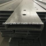 FRP Pultruded profile le tube rectangulaire de fibre de verre