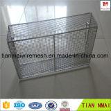 Cestino della maglia dell'acciaio inossidabile/casella della rete metallica acciaio inossidabile
