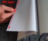 La venta caliente rueda se levanta el tipo aleación del clip de aluminio anodizada que retractables portables ruedan para arriba la bandera (SR-10)