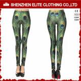 Yoga de encargo de los pantalones de las polainas de la sublimación del OEM (ELTLGJ-30)