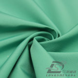 agua de 75D 190t y de la ropa de deportes tela tejida chaqueta al aire libre Viento-Resistente 100% de la pongis del poliester del telar jacquar del panal abajo (E060E)