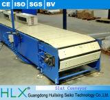 Transportador del secador del transportador de cadena del listón del acero inoxidable