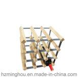 Бутылка сосенки 15 Готов-к-Собирает шкаф вина индикации хранения древесины металла