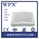 Одиночное волокно ONU для Epon с 1ge 3fe и WiFi