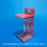 Коробка малой складчатости пластичная для косметического пакета