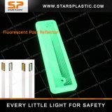 Réflecteur fluorescent de pouvoir installé sur le poste pour la sécurité routière